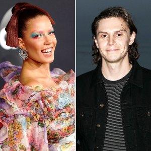 Halsey Wishes Darling BF Evan Peters Happy Birthday