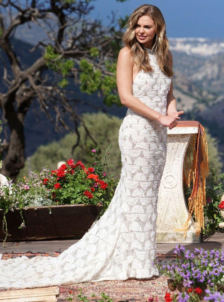 Hannah Brown Bachelorette Wedding Gown