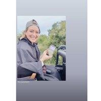Hilary Duff Matt Koma honeymoon Safari