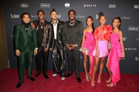 """Justin Dior Combs, Chris Combs, Quincy Combs, Sean """"Diddy"""" Combs and daughters Inside 2020's Biggest Pre-Grammy Parties"""