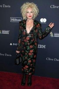 Cyndi Lauper Inside 2020's Biggest Pre-Grammy Parties