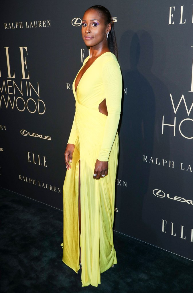 Issa Rae Elle Women in Hollywood Oscar Nominations 2020