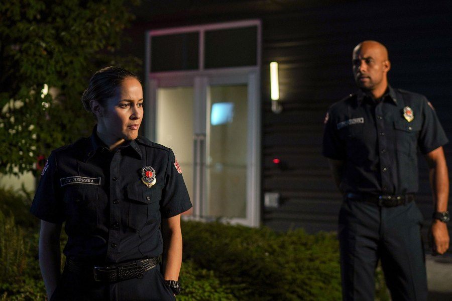 Jaina Lee Ortiz Station 19 Recap