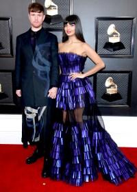 James Blake and Jameela Jamil Grammys 2020