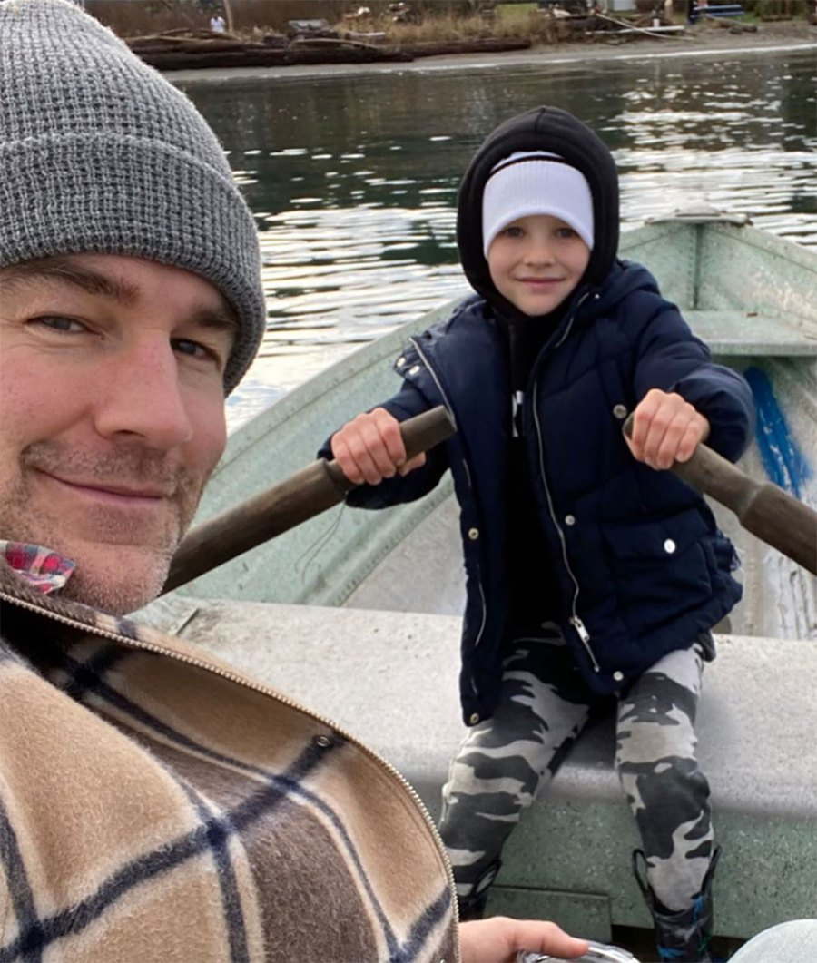 James and Kimberly Van Der Beek's Family RV Trip