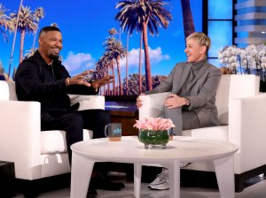 Jamie Foxx Jokes About His Love Life With Ellen DeGeneres After Katie Holmes Split