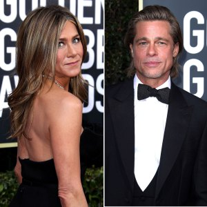 Jennifer Aniston Brad Pitt Avoided Each Other Golden Globes 2020