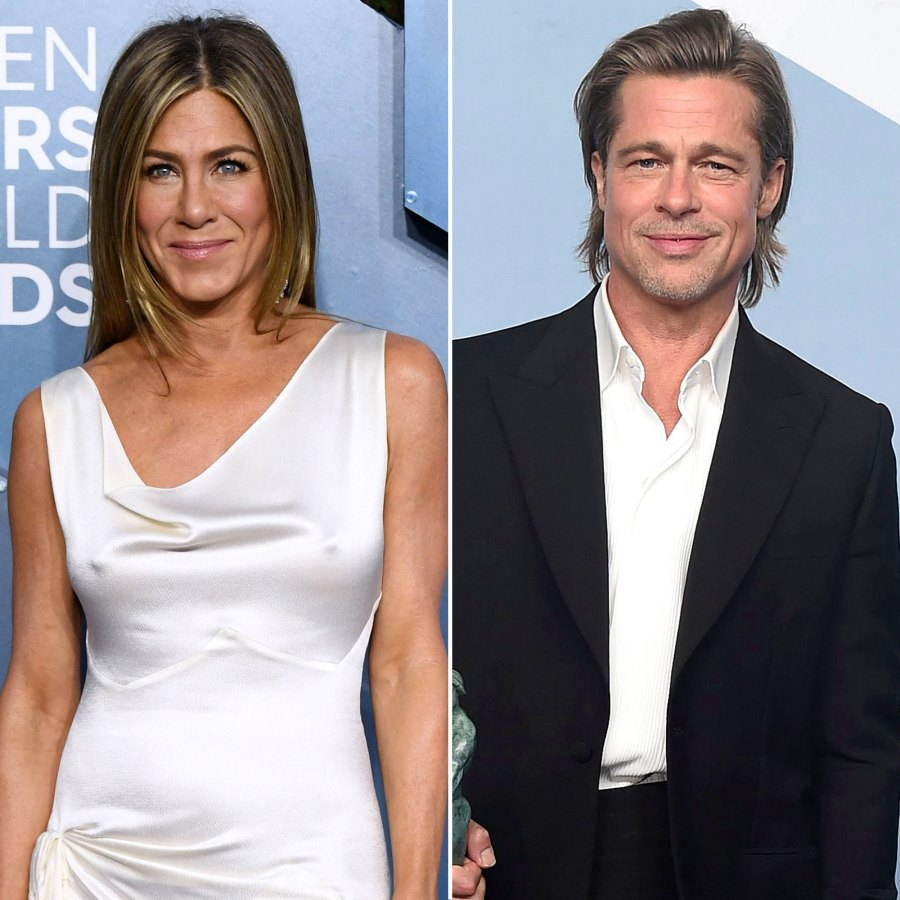 Jennifer Aniston, Brad Pitt Reveal Which Friends Character They Are