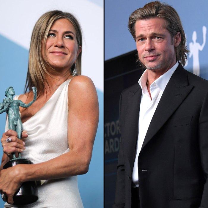 Jennifer Aniston, Brad Pitt Watched My Speech Backstage SAG Awards 2020