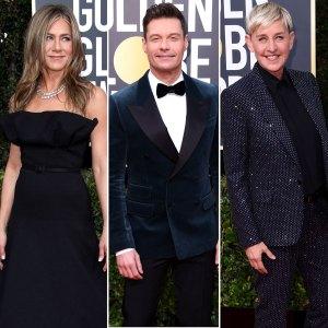 Jennifer Aniston Calls Out Ryan Seacrest Buying Ellen DeGeneres Home