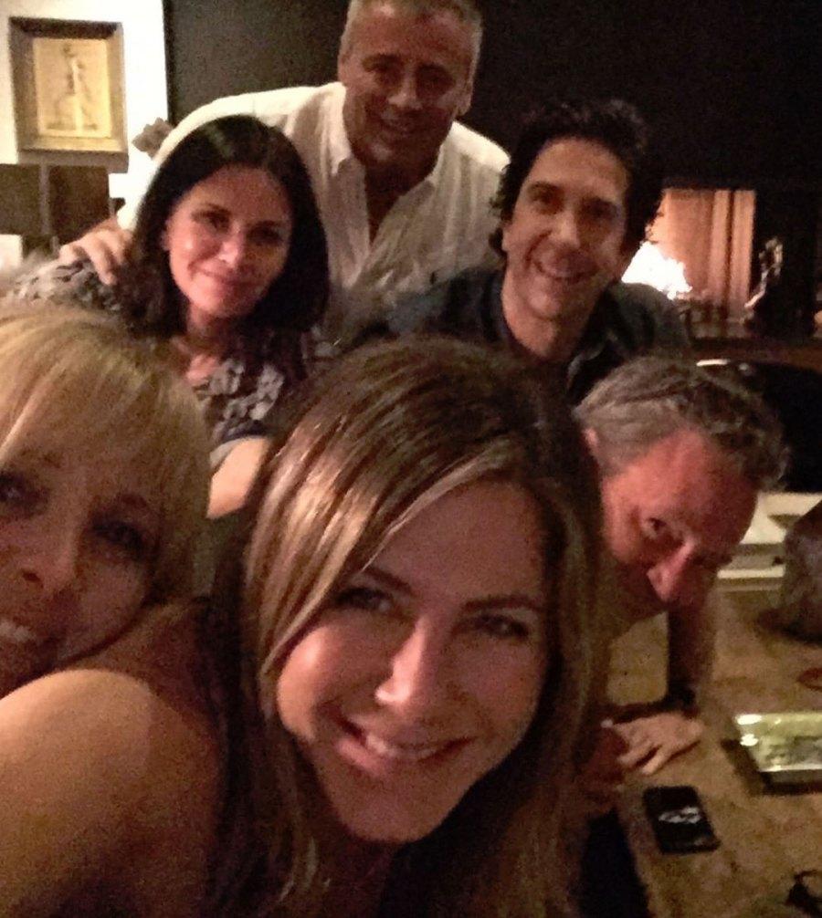 Jennifer Aniston Friends First Instagram Post