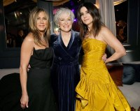 Sandra Bullock Jennifer Aniston and Glenn Close Golden Globes 2020 After Parties