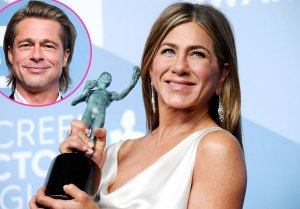 Jennifer Aniston Raves About 2020 SAG Awards After Brad Pitt Reunion