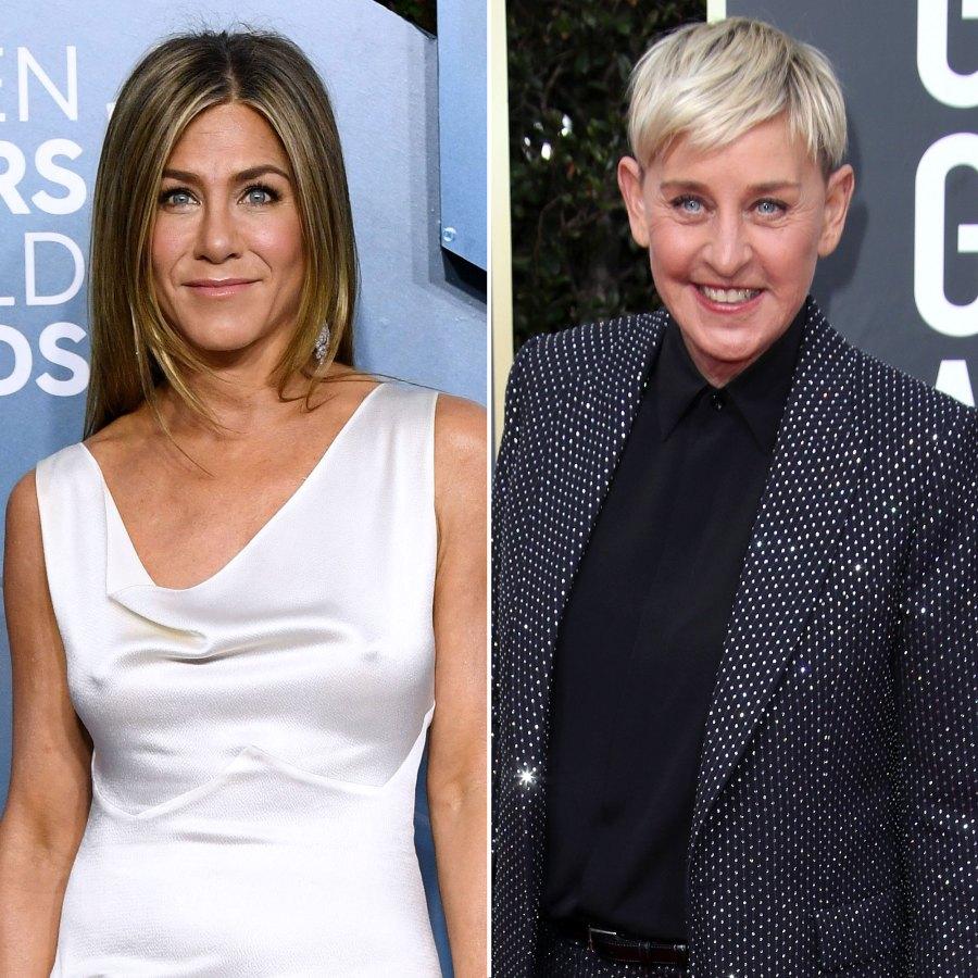 Jennifer Aniston Shadowed Ellen DeGeneres Before Filling in as Guest Host