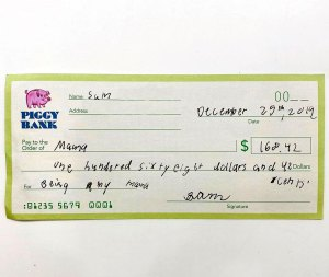 Jennifer Garner Son Wrote Her a Check Being My Mama