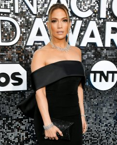 Jennifer Lopez Wears $9 Million Worth of Diamonds to the SAG Awards 2020 — See 'Em Here!