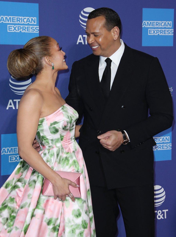 Jennifer Lopez Gushes Over Alex Rodriguez at Palm Springs Film Festival