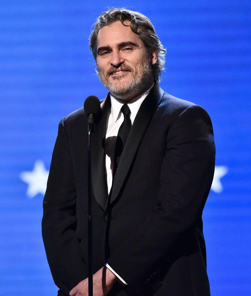 Joaquin Phoenix Best Actor Critic's Choice Awards 2020