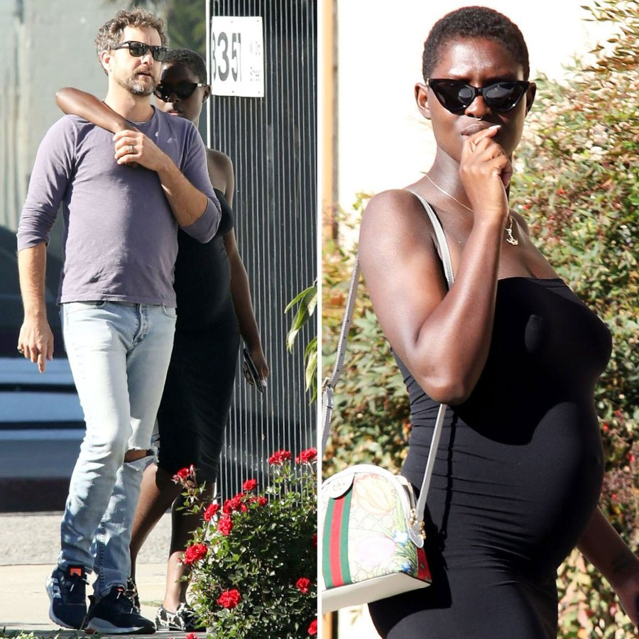 Jodie Turner-Smith Shows Off Baby Bump With Husband Joshua