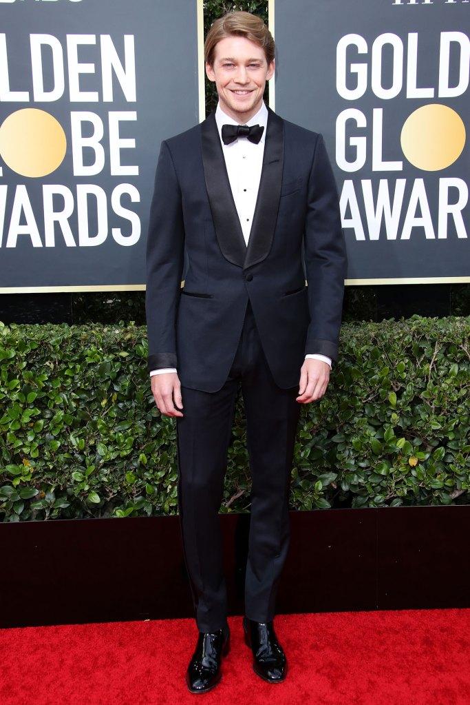 Joe Alwyn Solo Golden Globes 2020