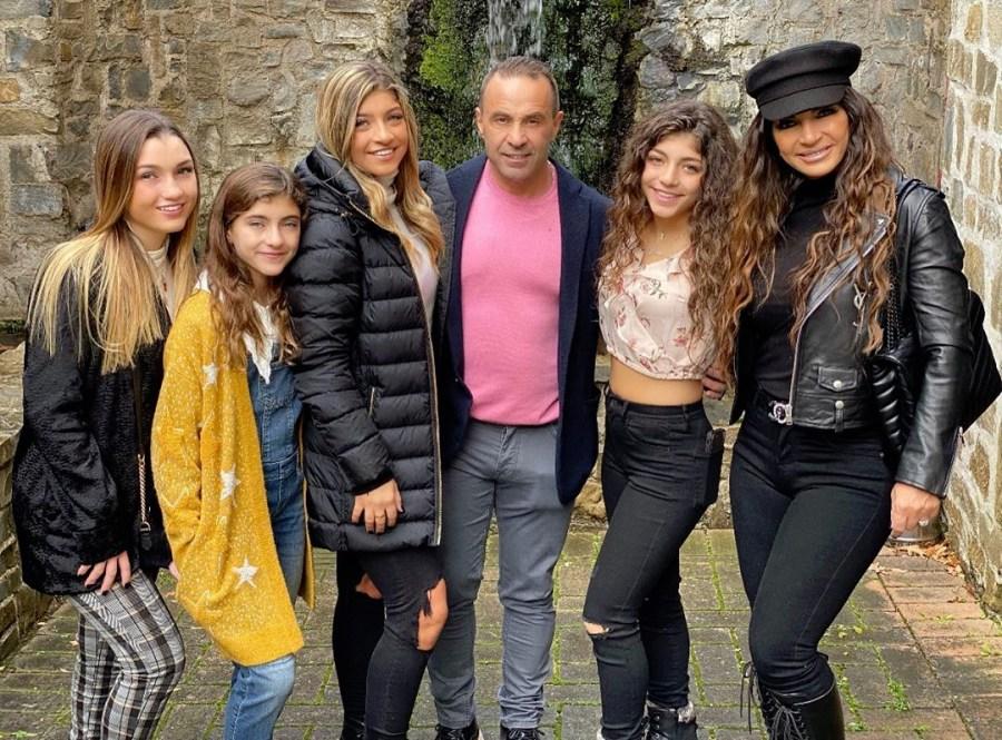 Joe Giudice and Family Italy