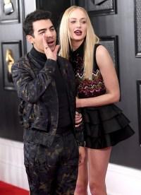 Joe Jonas Sophie Turner Grammys 2020 1