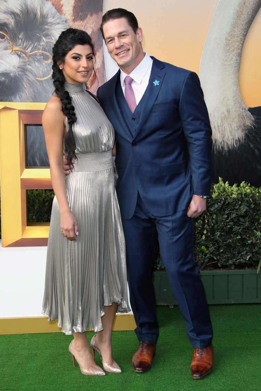 John Cena and His Girlfriend Shay Shariatzadeh Pack on the PDA at 'Doolittle' Film Premiere