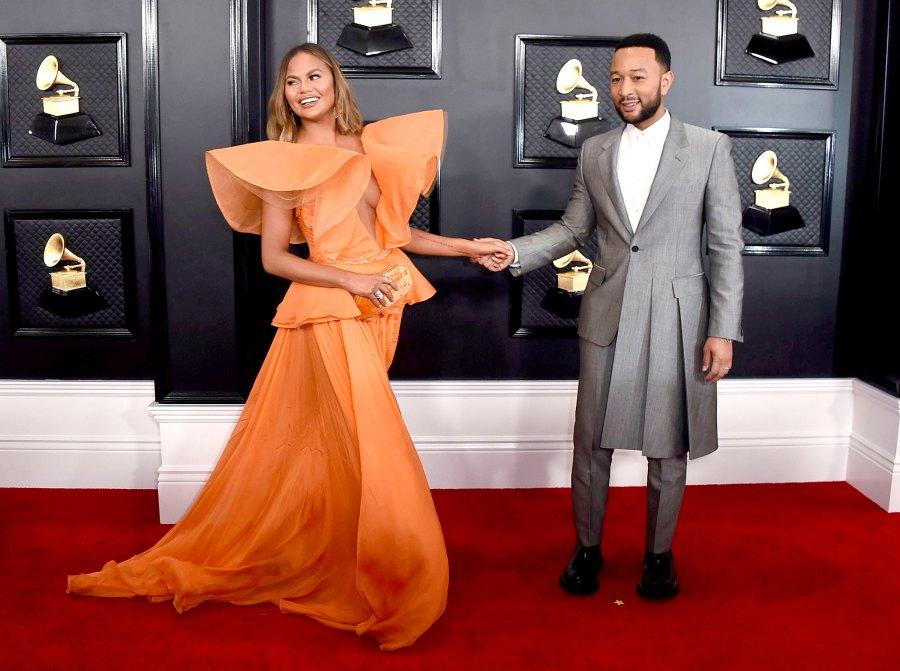 John Legend, Chrissy Teigen Grammys 2020