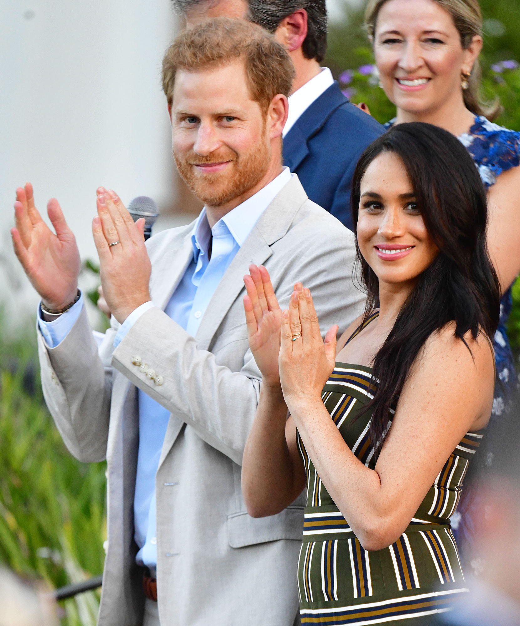 Prince Harry and Meghan Markle Visit South Africa The Crown Cast Weighs in on Prince Harry and Meghan Markles Royal Exit at the SAG Awards 2020