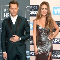 Justin Hartley Chrishell Stause Critic's Choice Awards 2020