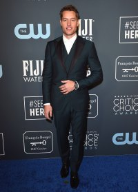 Justin Hartley and Isabella Justice Hartley Critic's Choice Awards 2020