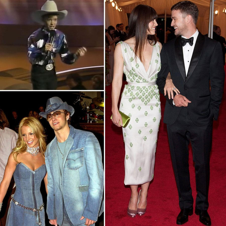 Justin Timberlake Through the Years