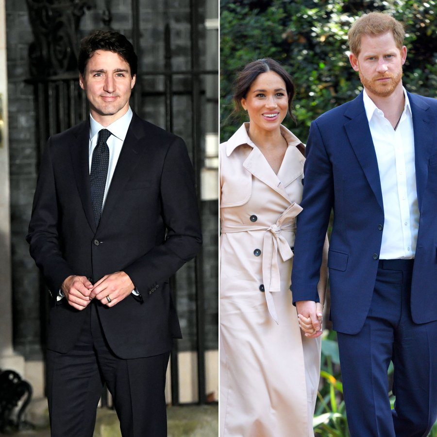 Justin Trudeau Says Canada to Support Harry and Meghan Amid Move to Canada