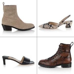 Kaia Gerber x Jimmy Choo Shoe Collaboration