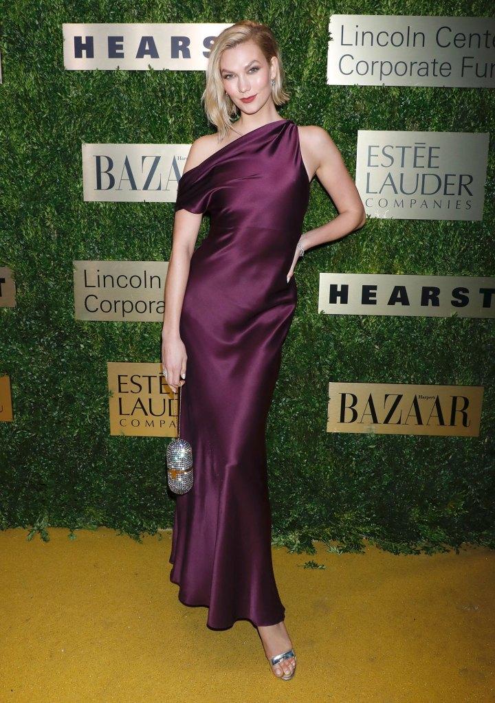 Karlie Kloss Wearing Cushnie Project Runway