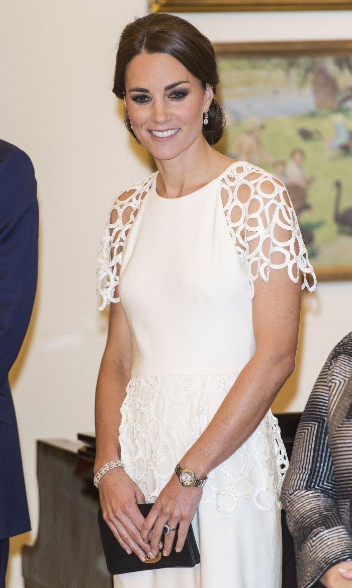 Kate Middleton's diamond wedding ring