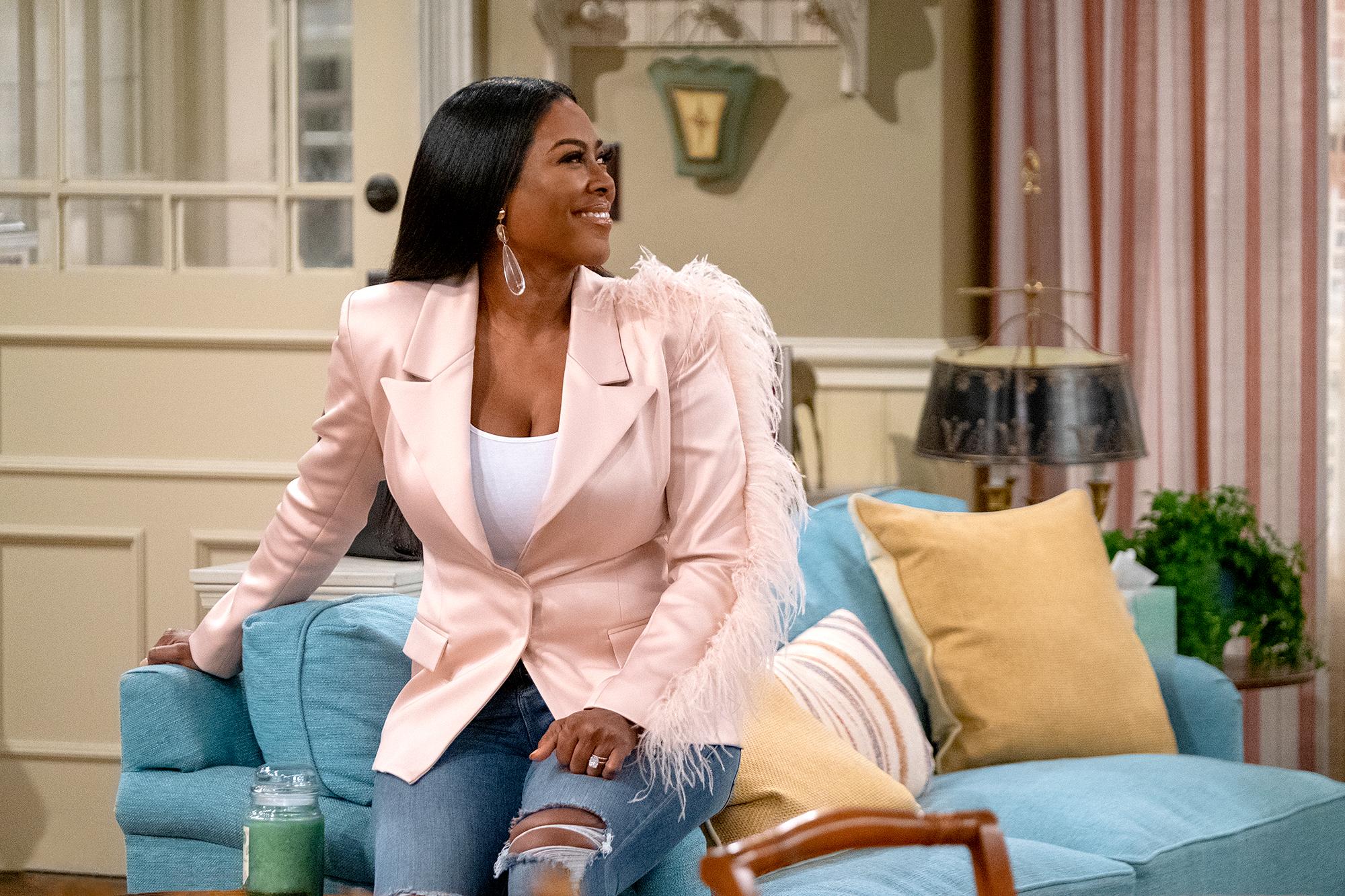 Kenya Moore on Family Reunion