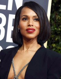 Kerry Washington Best Hair and Makeup Golden Globes 2020