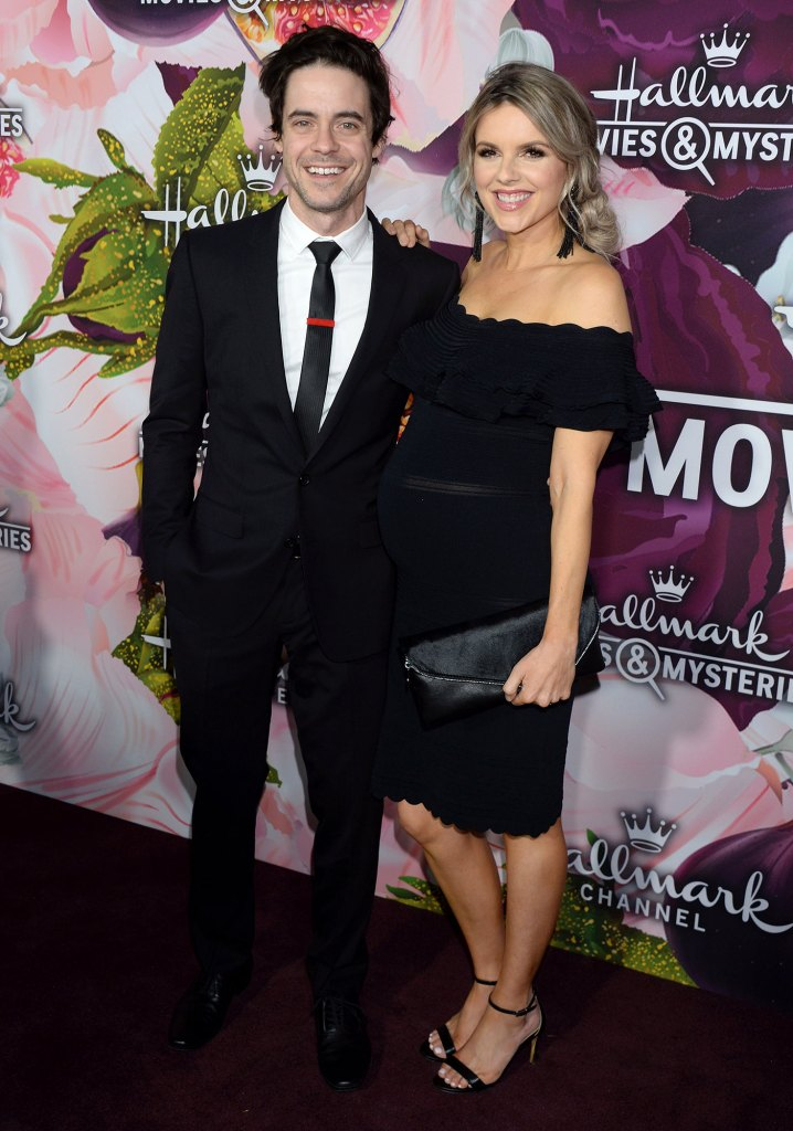 Kevin Manno and Ali Fedotowsky Hallmark Channel All-Star Party