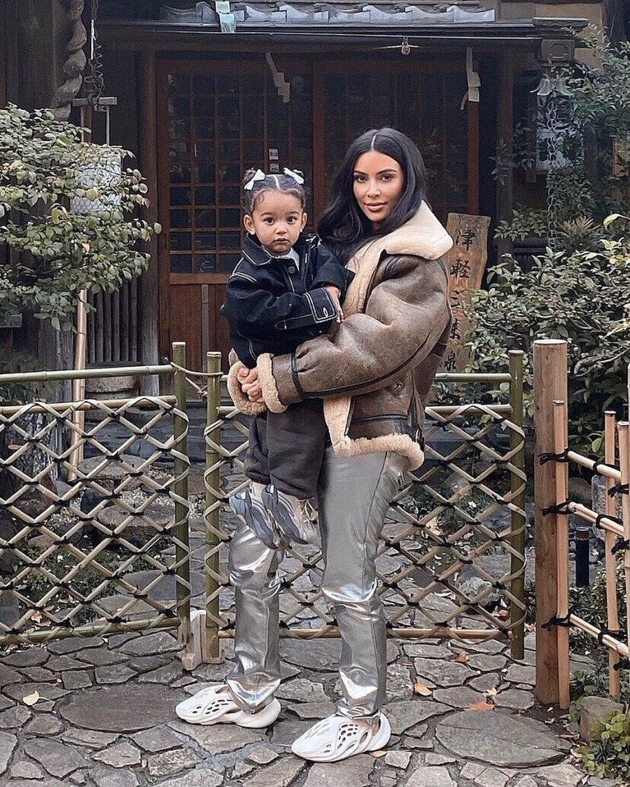Kim Kardashian and More Family Members Celebrate Chicago's 2nd Birthday