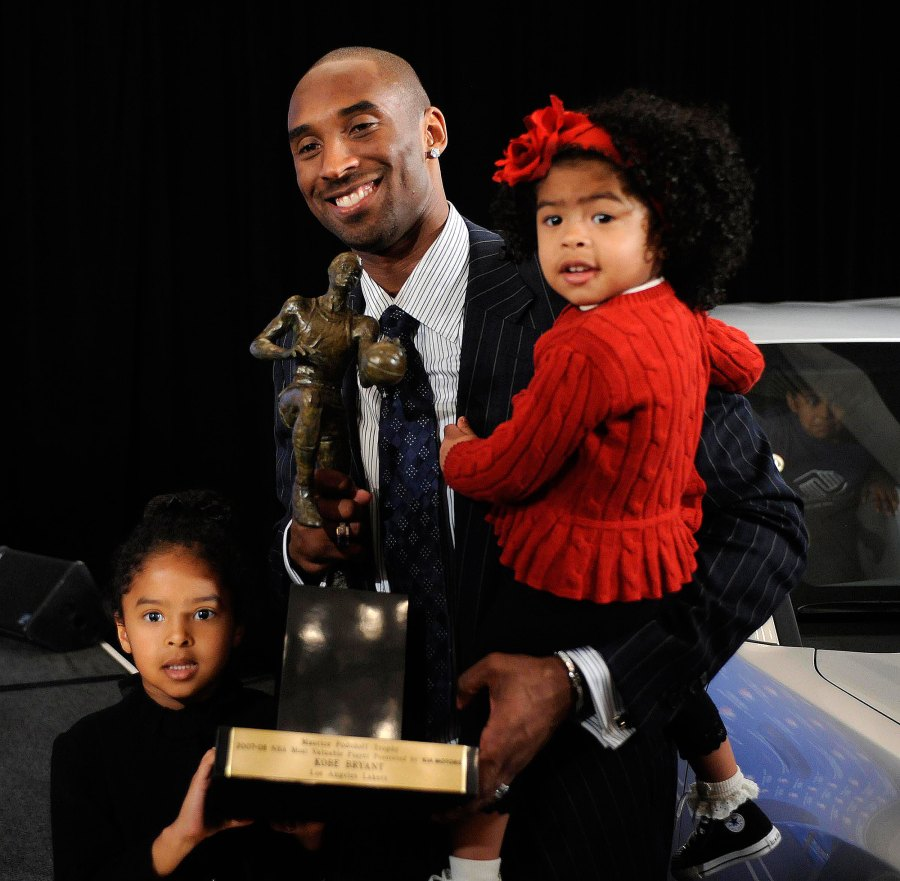 Gianna and Natalia MVP Kobe Bryant Family Album
