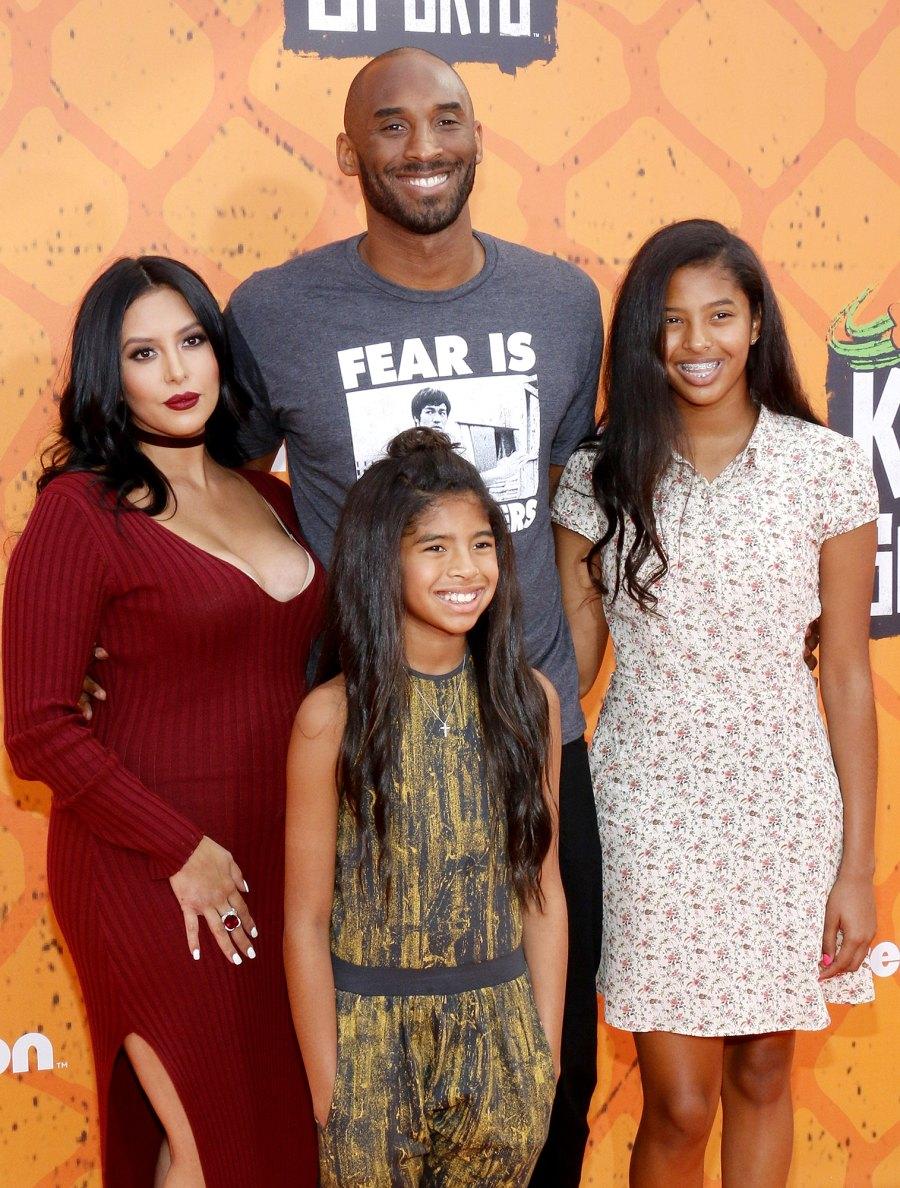 Kobe Bryant, Vanessa Laine, Gianna Bryant and Natalia Bryant Nickelodeon Kids Choice Sports Awards Kobe Bryant Family Album
