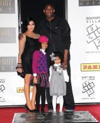 Kobe Bryant Vanessa children 2011
