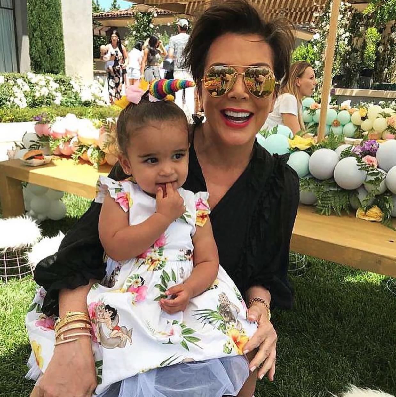 Kris Jenner Likes to Spoil Her Grandchildren 2