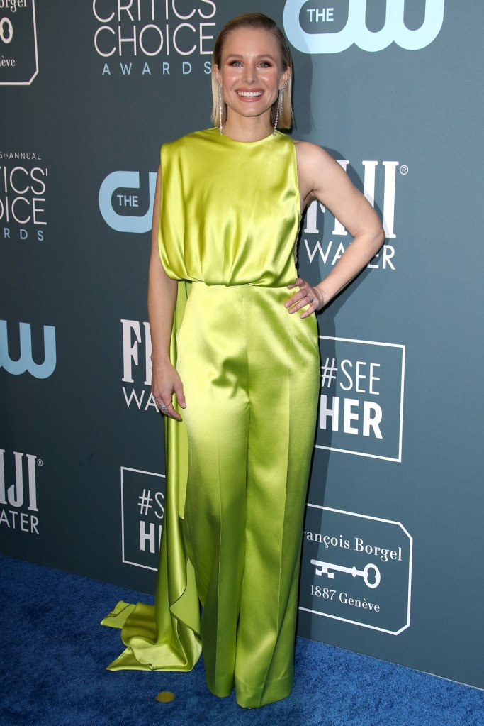 Kristen Bell SeeHer Award Critic's Choice Awards 2020