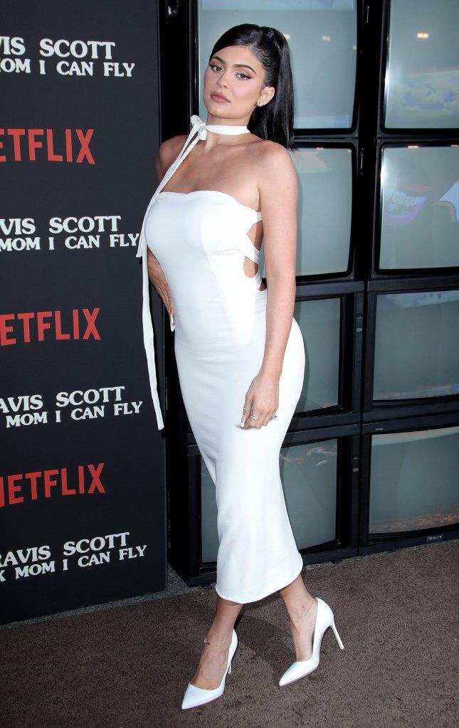 Kylie Jenner Wearing Dolce & Gabbana Reveals She Wants 4 Kids