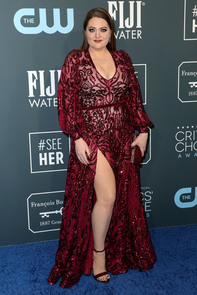Lauren Ash Critics' Choice 2020 Gushes Over Pregnant Costar America Ferrera