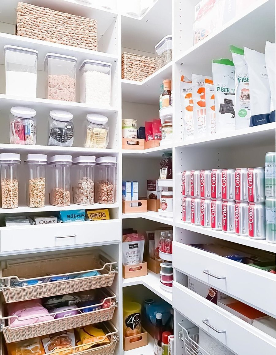 Lauren Sorrentino, Mike 'The Situation' Sorrentino Show Off Their 'Neat and Functional' Pantry