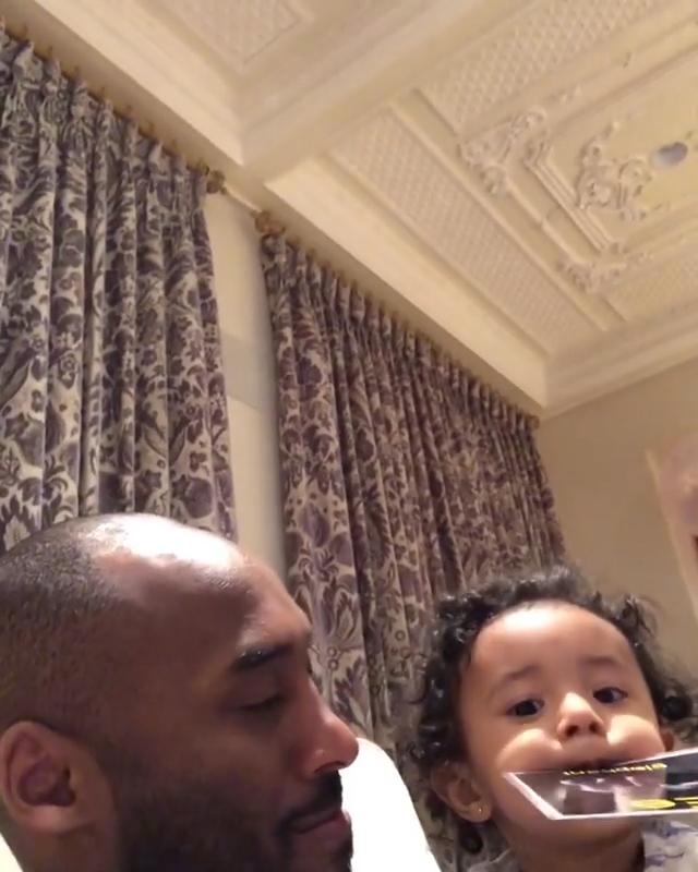 Like Father, Like Daughter Kobe Bryant Family Album Bianka