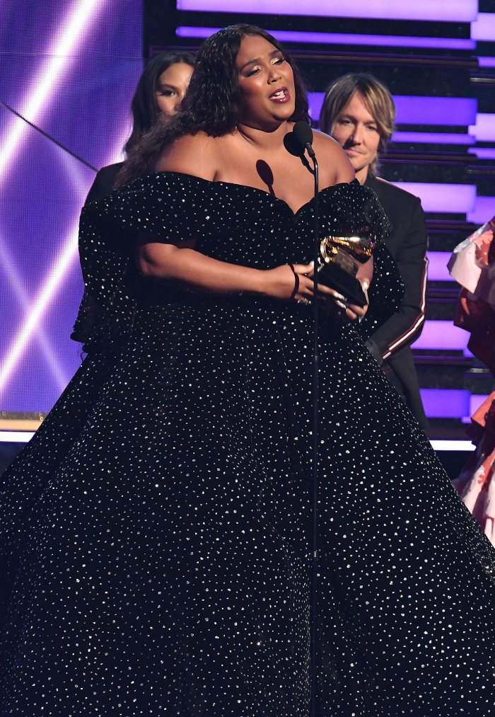 grammys 2020 lizzo wins the 1st grammy of her career grammys 2020 lizzo wins the 1st grammy